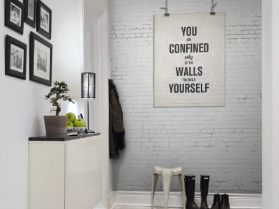 ミューラル壁紙 R12404 Poster, brick wall 画像 1 by Rebel Walls
