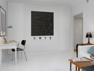 Mural de pared R12531 CMYK, black imagen 1 por Rebel Walls