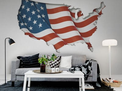 Mural de pared R12631 Old Glory imagen 1 por Rebel Walls