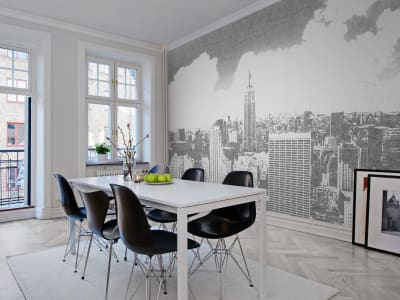 ミューラル壁紙 R12661 Concrete New York 画像 1 by Rebel Walls