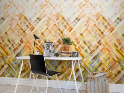 Murale R12891 Dream Weaver, yellow ​​immagine 1 di Rebel Walls