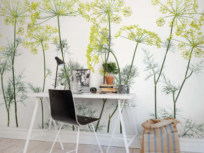 Mural de pared R12951 Crown Of Dill imagen 1 por Rebel Walls
