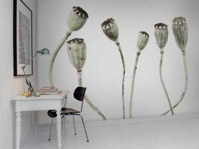 Mural de pared R12991 Simple Seedpod imagen 1 por Rebel Walls