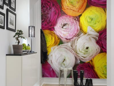 Wall Mural R13011 Ranunculus image 1 by Rebel Walls