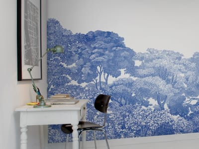 Tapete R13055 Bellewood, Porcelain Toile Bild 1 von Rebel Walls