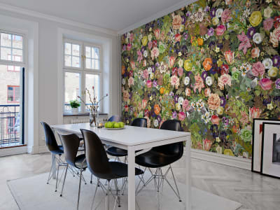 Mural de pared R13142 Meadow, Color imagen 1 por Rebel Walls