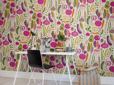 Mural de pared R50802 Fruits & Roots imagen 1 por Rebel Walls