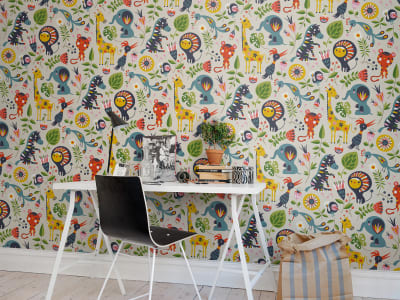 Wall Mural R50804 Jungle Folklore image 1 by Rebel Walls