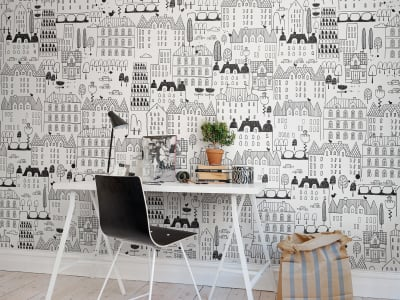 Wall Mural R50308 Urbanromantic image 1 by Rebel Walls