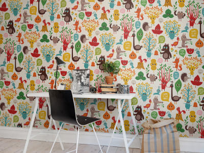 Wall Mural R50810 Free in The Wood image 1 by Rebel Walls