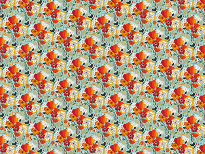 Décor Mural R50808 Sweet Poppies image 1 par Rebel Walls