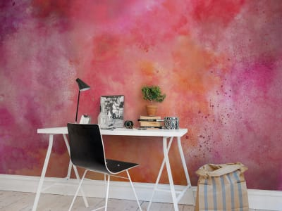 Wall Mural R13272 Color Clouds, Chili image 1 by Rebel Walls