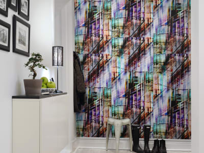 Tapete R13291 Neon City Bild 1 von Rebel Walls