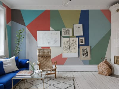Mural de pared R13421 Big Diamond imagen 1 por Rebel Walls