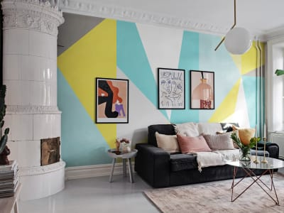 Mural de pared R13425 Big Diamond, Summer imagen 1 por Rebel Walls