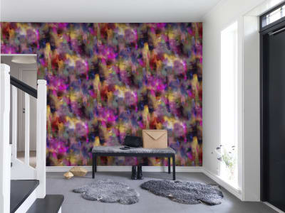 Mural de pared R13491 Textile Graffiti imagen 1 por Rebel Walls