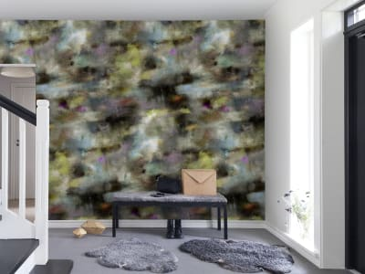Mural de pared R13492 Textile Graffiti, dusk imagen 1 por Rebel Walls