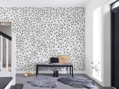 Mural de pared R13512 Twinkle Twinkle, black imagen 1 por Rebel Walls