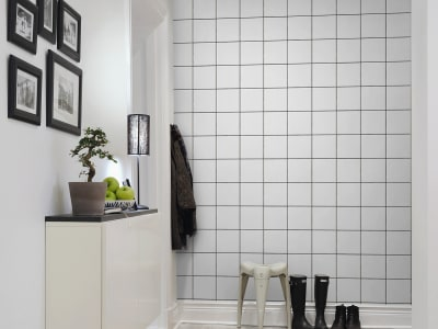 Wall Mural R13741 Square Tiles image 1 by Rebel Walls