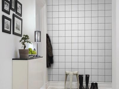 Kuvatapetti R13741 Square Tiles kuva 1 Rebel Wallsilta