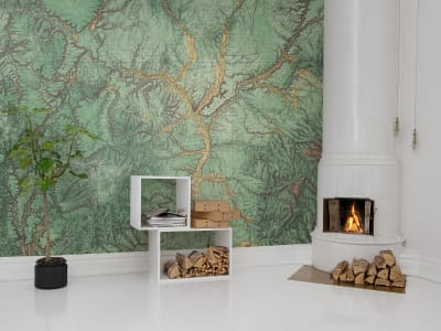 Mural de pared R13771 Woodland imagen 1 por Rebel Walls