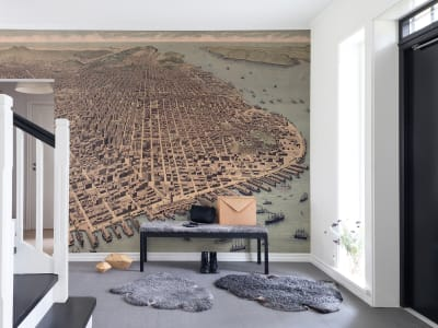 Wall Mural R13831 A City Rises image 1 by Rebel Walls