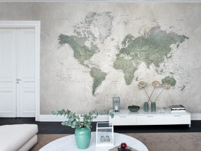 Wall Mural R13901 School Atlas image 1 by Rebel Walls