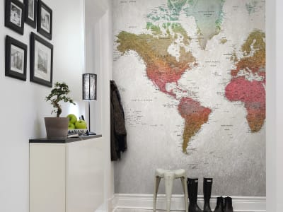 Mural de pared R13902 School Atlas, Rainbow imagen 1 por Rebel Walls