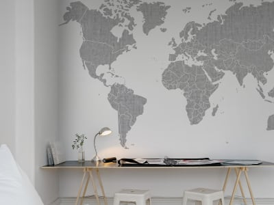 Mural de pared R13921 Your Own World, Concrete imagen 1 por Rebel Walls