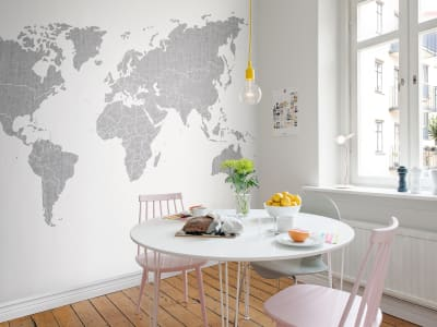 Kuvatapetti R13921 Your Own World, Concrete kuva 1 Rebel Wallsilta
