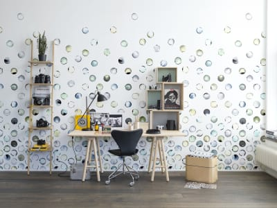 Mural de pared R13951 Lenses imagen 1 por Rebel Walls