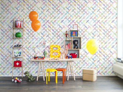 Tapet R14041 Patchwork Play bilde 1 av Rebel Walls