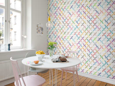 Tapete R14041 Patchwork Play Bild 1 von Rebel Walls