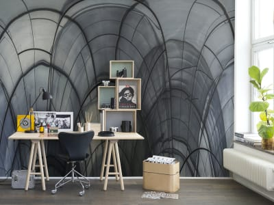 Mural de pared R14081 Glass Vault imagen 1 por Rebel Walls