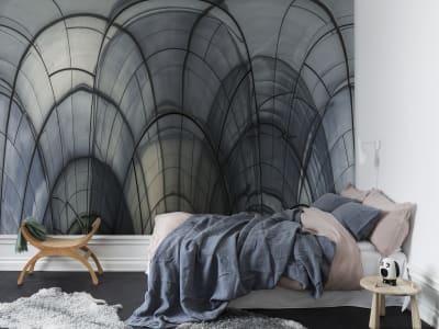 Décor Mural R14081 Glass Vault image 1 par Rebel Walls