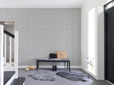 Wall Mural R14111 Perfect Fit, Soft Grey image 1 by Rebel Walls