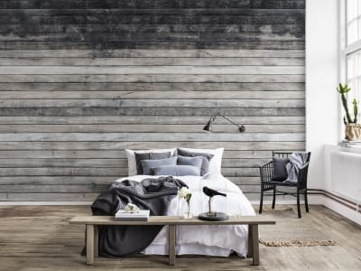 Mural de pared R14291 Worn Wood imagen 1 por Rebel Walls