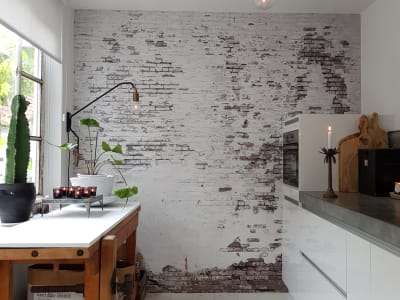 Mural de pared R14321 Industrial Ivory imagen 1 por Rebel Walls