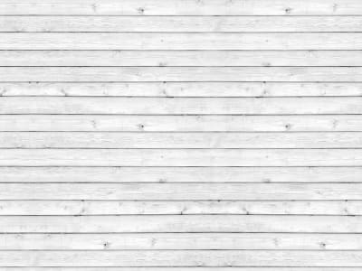ミューラル壁紙 R12582 Horizontal Boards, white 画像 1 by Rebel Walls
