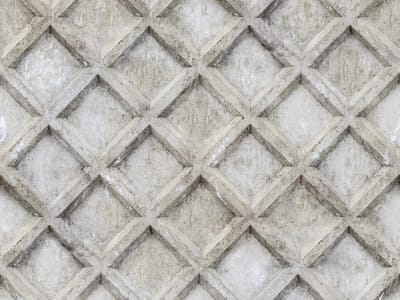 Wall Mural R12781 Concrete Trellis image 1 by Rebel Walls