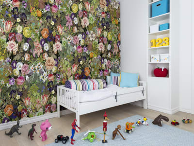 Wall Mural R13142 Meadow, Color image 1 by Rebel Walls