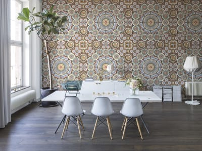 Tapet R12591 Geometric Pattern bilde 1 av Rebel Walls