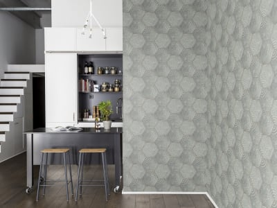 Wall Mural R12821 Hexagon image 1 by Rebel Walls