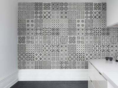 Tapet R12721 Marrakech, black bilde 1 av Rebel Walls