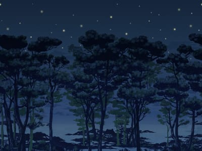 Tapetl R14462 The Enchanted Forest bild 1 från Rebel Walls