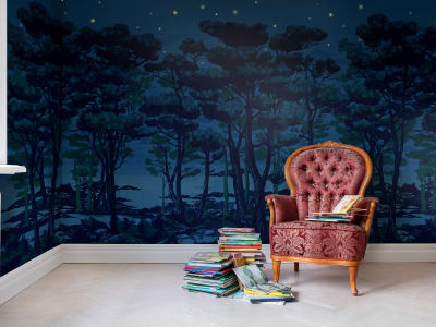 Mural de pared R14462 The Enchanted Forest imagen 1 por Rebel Walls