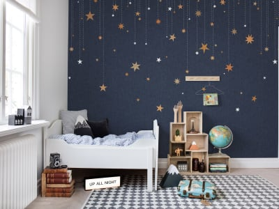 Mural de pared R14571 Stargazing imagen 1 por Rebel Walls