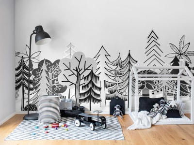 Mural de pared R14582 Nordic Valley imagen 1 por Rebel Walls