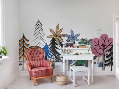 Décor Mural R14581 Nordic Valley, Color image 1 par Rebel Walls