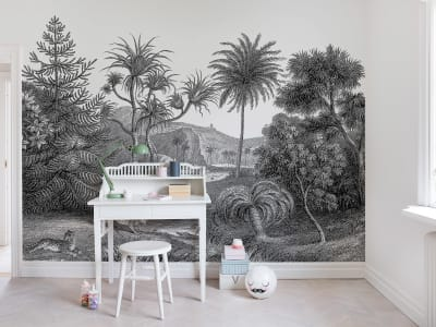 Mural de pared R14612 Jungle Land imagen 1 por Rebel Walls